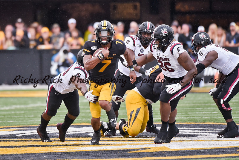 NCAA Football 2019: S. Carolina vs Missouri SEP 21