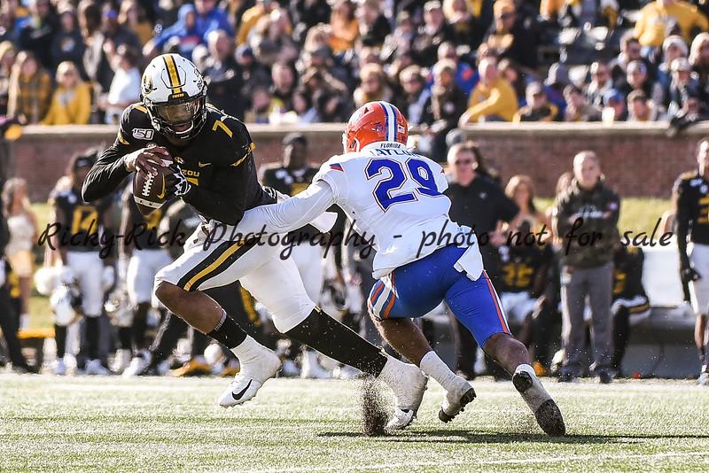 NCAA Football 2019: Florida vs Missouri Nov 16