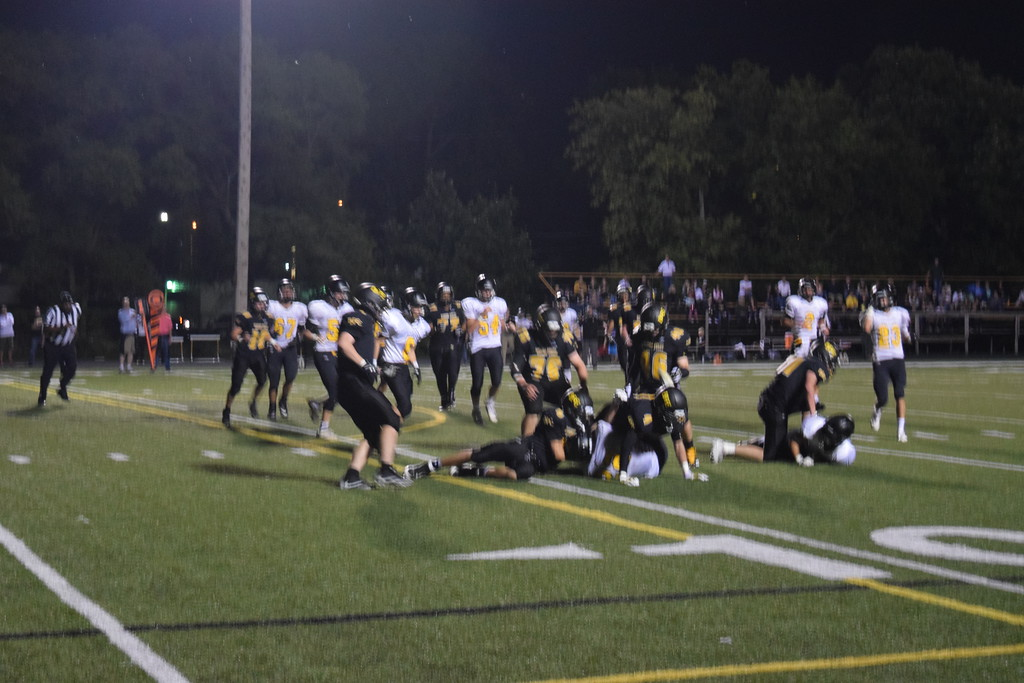 . Clarkston Everest Collegiate won at Bishop Foley on Friday in Catholic League action. (Photo by Paula Pasche)