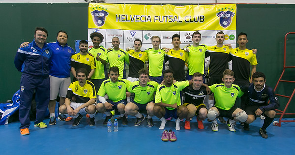 Helvecia Futsal Club v River Lea Futsal Club. The Score Community Centre. Friendly match. 12.04.2017
