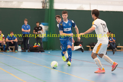 Vladimir Derendiason during LONDON HELVECIA v CAMBRIDGE UNITED FUTSAL. FA National Super League Play-Off. 2nd Leg Quarter-Final. Score Centre. 21.05.2017