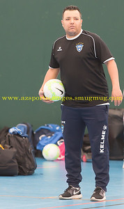 Helvecia HC Leo Afonso at the LONDON HELVECIA v CAMBRIDGE UNITED FUTSAL. FA National Super League Play-Off. 2nd Leg Quarter-Final. Score Centre. 21.05.2017
