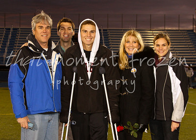 2011-10-19 Senior Night Family Photos