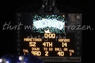 2011-10-19 Senior Night vs Hopkins