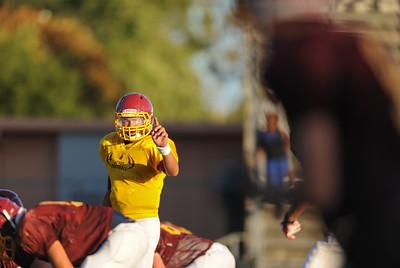 Menlo Atherton High School Vs. Junipero Serra Varsity Football, Scrimmage, 2012-08-18