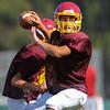 Menlo Atherton Frosh Football, Scrimmage, 2012-08-18