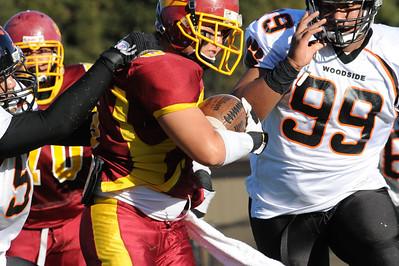 Menlo Atherton Bears Varsity vs.Woodside 2010-11-13