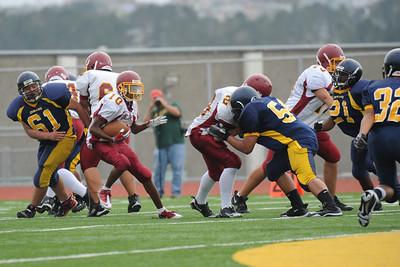 Menlo Atherton Bears JV vs. Jefferson High  2010-09-17