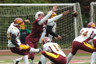 Menlo Atherton Bears Varsity vs.Sacred Heart Prep 2010-10-23