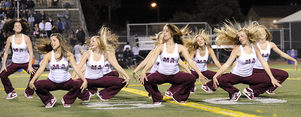 Menlo Atherton Bears Dance Team 2010-10-07
