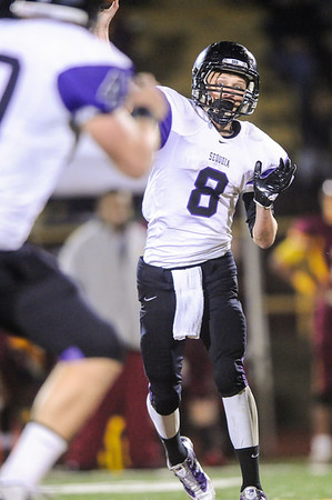 Highlights - Menlo Atherton Varsity Football vs. Sequoia High School, 2012-11-16
