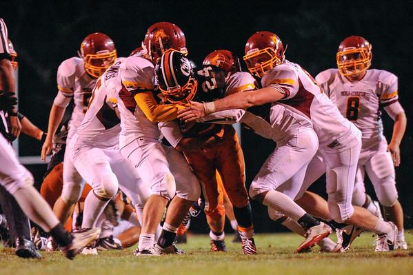 Highlights MA Bears Varsity vs. Los Gatos Wildcats 2012-09-07