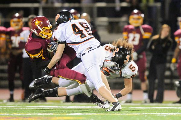 Highlights Menlo Atherton Varsity Football vs. Woodside 2012-11-09