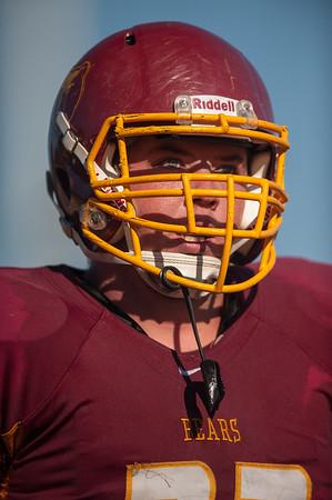 Highlights Los Gatos Varsity Football vs. M-A 2014-09-12