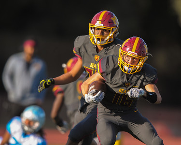 Menlo-Atherton Defeats Hillsdale High 56-20.