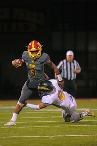 Menlo-Atherton defeated Wilcox High 42-14 in the 2016 CSS Football Playoffs