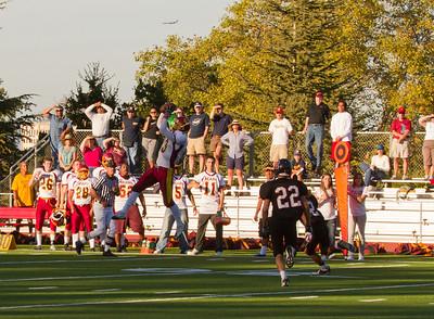 Menlo Atherton Bears Varsity vs.Aragon  2010-10-15