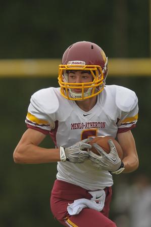 Riordan Varsity Football Highlights vs. M-A 2014-09-20