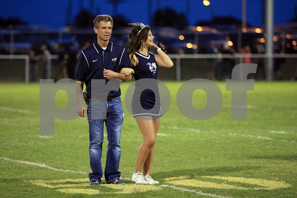 Football Homecoming Ceremony