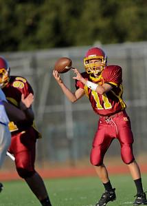 Menlo Atherton High School Frosh Soph Football vs. St. Ignatius High School 2011-09-16
