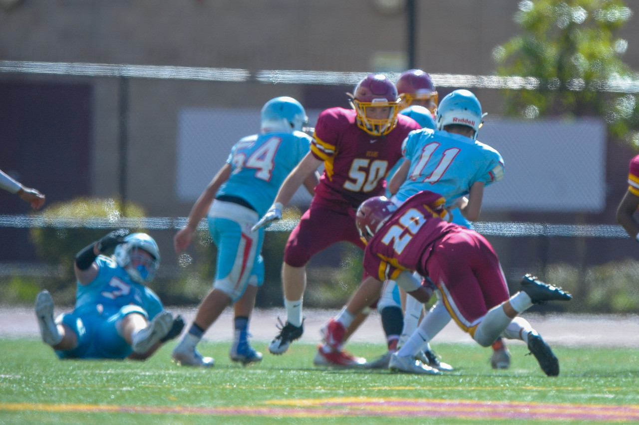Menlo Atherton JV Football vs. Hillsdale High School, 2016-10-29.