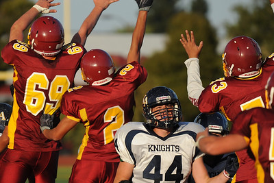 Menlo Atherton Bears Frosh/Soph vs.King's Academy Knights 2010-10-07
