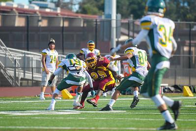 Menlo Atherton JV  Football vs.Monterey High School 2015-09-25