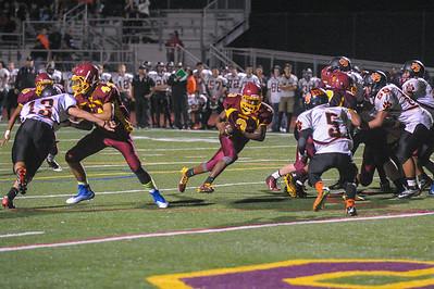 M-A JV Football vs. Woodside High 2014-11-14