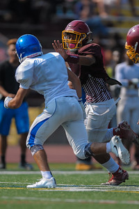 M-A JV scrimmage against Serra High, 2016-08-19