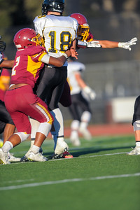Menlo Atherton JV  Football vs. Terra Nova High School, 2016-09-30.