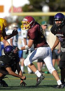 Menlo Atherton High School Frosh Soph  Football Scrimmage, August 26 2011
