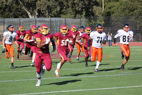 M-A JV vs Los Gatos: 16Sept16