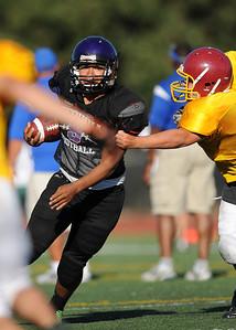 Sequoia High School Frosh Soph Football Scrimmage, August 26, 2011