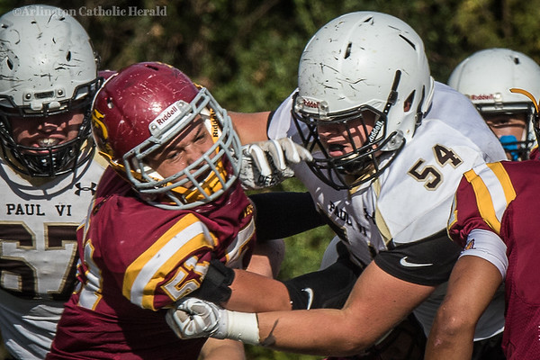 Football: Paul VI vs Bishop Ireton