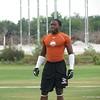 Florida cornerback commit Duke Dawson at the IMG 7-on-7 southeast regional.