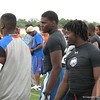 Jeffery Holland (center) an athlete out of Trinity high school.