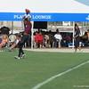 Ermon Lane scoring a touchdown.