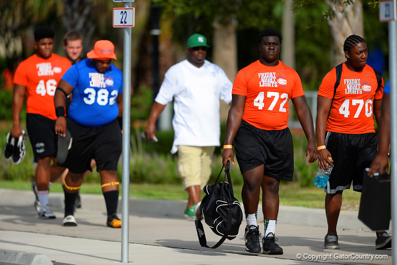 Offensive line heading for camp