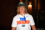 2015 Florida Gator recruit Matthew Burrell gives an interview after Friday Night Lights. 2014 Friday Night Lights.  July 25th, 2014. Gator Country photo by David Bowie.