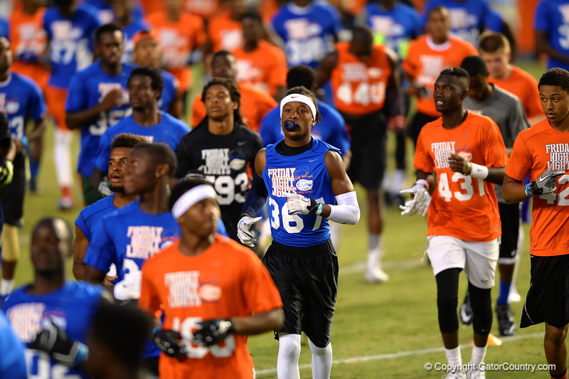 High School football recruits put on a show at Friday Night Lights.