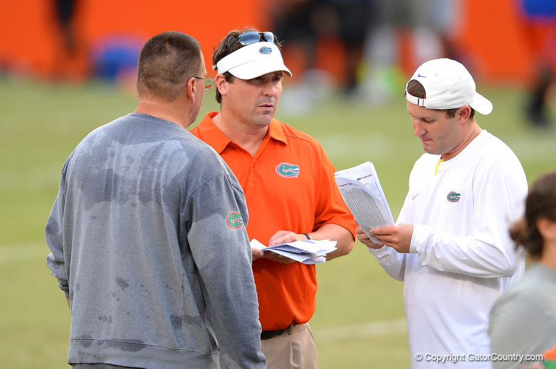 Drew Hughes, Will Muschamp and Brian White