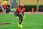 CB Jermaine Roberts drops back into coverage.  Under Armour All America Football Bowl Practice Day 1.  Orlando,FL.  December 29, 2013.  Gator Country photo by David Bowie.