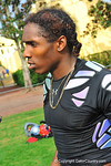 CB Adoree' Jackson during an interview following practice. Under Armour All America Football Bowl Practice Day 1.  Orlando,FL.  December 29, 2013.  Gator Country photo by David Bowie.