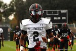 Wide Receiver Tyrie Cleveland at Under Armour All-American Practice Day One. GatorCountry photo by Kassidy Hill