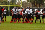 Offensive players at Under Armour All-American Practice Day One. GatorCountry photo by Kassidy Hill