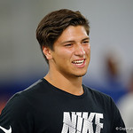 Quarterback Matt Corral at Friday Night Lights camp at Ben Hill Griffin Stadium and Indoor Practice Facility.  July 21st, 2017.  Gator Country Photo by David Bowie.