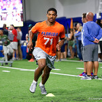 Receiver prospect Jamarr Chase at Friday Night Lights camp at Ben Hill Griffin Stadium and Indoor Practice Facility.  July 21st, 2017.  Gator Country Photo by David Bowie.