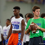 University of Florida Gators recruits, commits and high school players from across the nation compete as the Gators host their annual Friday Night Lights camp at Ben Hill Griffin Stadium and Indoor Practice Facility.  July 21st, 2017.  Gator Country Photo by David Bowie.