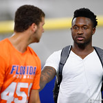 Florida Gators defensive back Duke Dawson as University of Florida Gators recruits, commits and high school players from across the nation compete as the Gators host their annual Friday Night Lights camp at Ben Hill Griffin Stadium and Indoor Practice Facility.  July 21st, 2017.  Gator Country Photo by David Bowie.