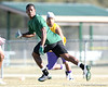 during a 7-on-7 football practice on Saturday, March 6, 2010 at Wrigley Fields Park in Citra, Fla. / Gator Country photo by Tim Casey